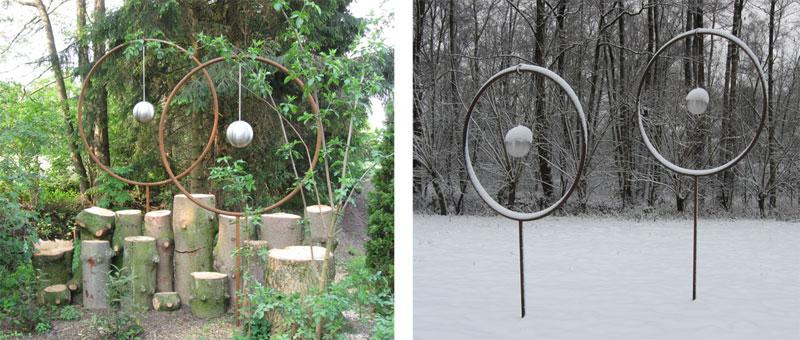 Kunst im Wandel der Jahreszeiten – Holzpendel