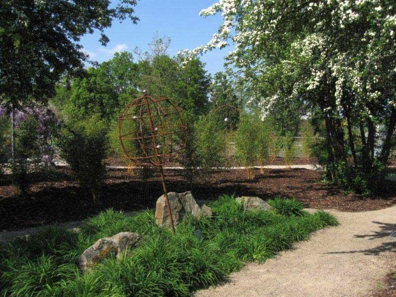 Stahl-Zeit im Park Vier Jahreszeiten Oelde, 2013